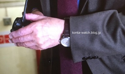 北大路 欣也 モンブラン タイムウォーカー オートマティック 『記憶捜査~新宿東署事件ファイル~』より