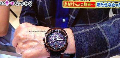 加藤 茶 セイコー アストロン 5Xシリーズ デュアルタイム ホンダNSX 2019年モデル 『人生が変わる1分間の深イイ話』より