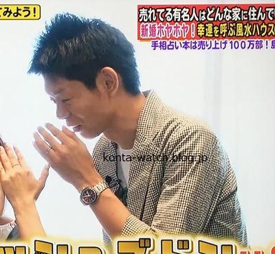 島田 秀平 オメガ スピードマスター レーシング
