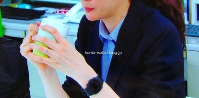 ともさか りえ カシオ ベビーG 『監察医 朝顔  第2シーズン』より