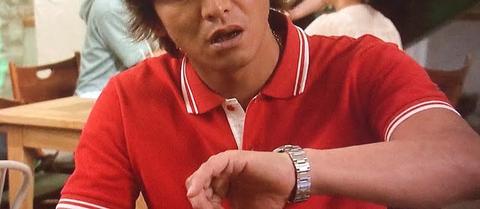 今週の『HERO』第3話 久利生公平役の木村拓哉 ロレックス エクスプローラー