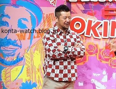 ケンドーコバヤシ カシオ Gショック フロッグマン  マスター・イン・ネイビーブルー にけつッ!! より