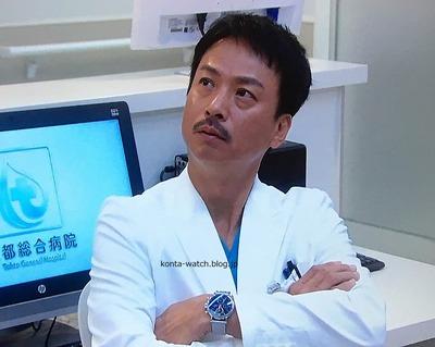 椎名 桔平 IWC ポートフィノ クロノグラフ 『トップナイフ-天才脳外科医の条件-』より