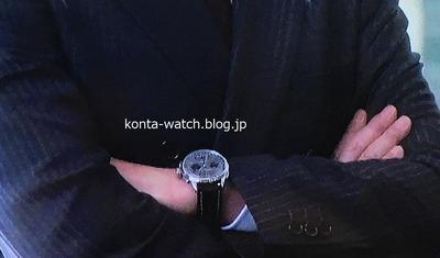 吉田 鋼太郎 ブライトリング プレミエ B01 クロノグラフ 42 『SUITS/ スーツ2』より