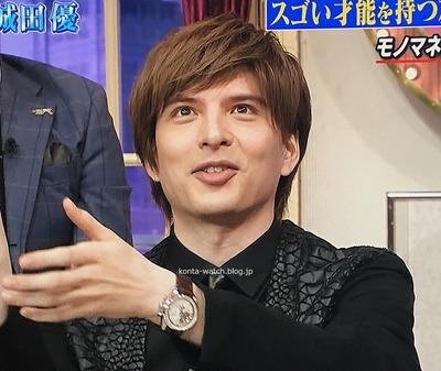 城田 優 ゼニス クロノマスター オープン グランドデイト 『しゃべくり007』より