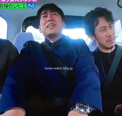 安住 紳一郎(TBSアナウンサー) パネライ ルミノールマリーナ 『ぴったんこ・カンカン』より