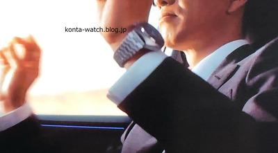 木村 拓哉 オメガ スピードマスター マークII コーアクシャル 日産自動車CM「やっちゃえNISSAN ハマっちゃう」篇より