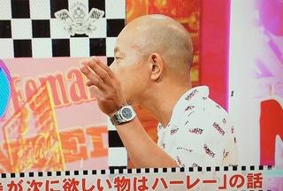 小峠 英二(バイきんぐ) オーデマ・ピゲ ロイヤルオーク