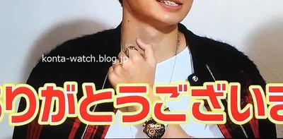 菊池 風磨(Sexy Zone) タグ・ホイヤー カレラ タキメーター クロノグラフ