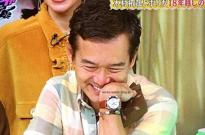 渡部 篤郎 ロレックス コスモグラフ デイトナ  ホワイトダイヤル 『クイズ! ドレミファドン!2020新春SP』より