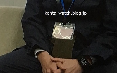 藤森 慎吾(オリエンタルラジオ) ガーミン アプローチ S20J GPSゴルフウォッチ 『インハンド』より
