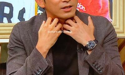 岡田 准一(V6)  パテック・フィリップ アニュアルカレンダー 『嵐にしやがれ』より