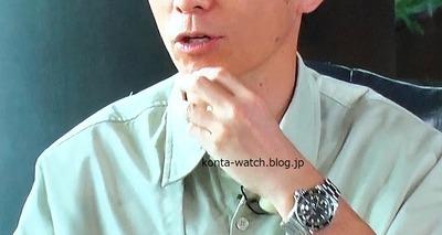藤森 慎吾(オリエンタルラジオ) ロレックス サブマリーナ デイト 『王様のブランチ』より