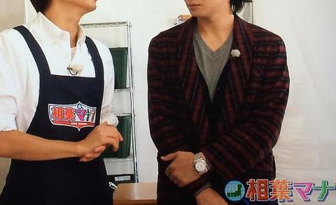 生田 斗真  ロレックス デイトジャスト ホワイトダイヤル