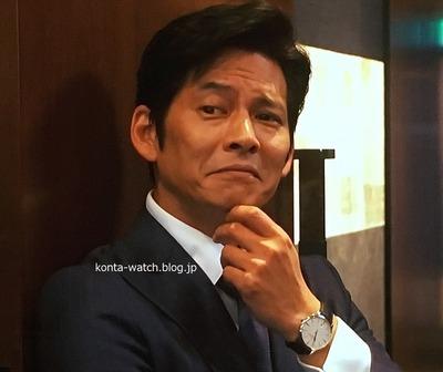 織田 裕二 ヴァシュロン・コンスタンタン パトリモニー コンテンポラリーデイト  セルフワインディング 『SUITS/スーツ』より