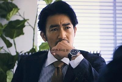 大谷 亮平 モンブラン スター 4810 オートマティック 『ラストチャンス~再生請負人~』より