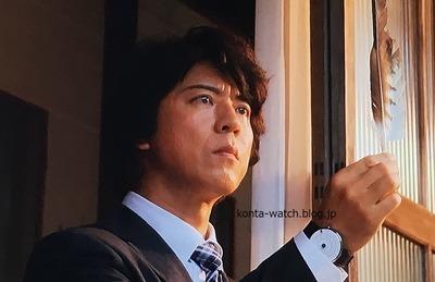 上川 隆也 クロッカーズ KLOK-01シリーズ  グレー/マッドブラックベルト 『遺留捜査スペシャル』より