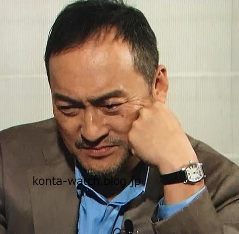 渡辺 謙 カルティエ トーチュ ウォッチ MM WG01