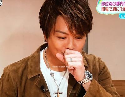 TAKAHIRO(EXILE) ロレックス エクスプローラーⅡ ブラックダイヤル 『にじいろジーン』『1億人の大質問!?笑ってコラえて!』より