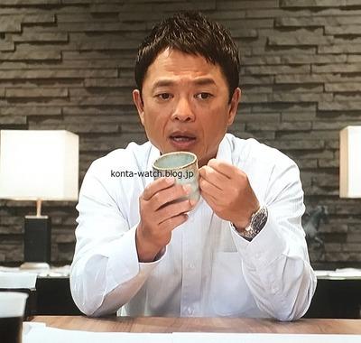 恵 俊彰(ホンジャマカ) ハミルトン ジャズマスター シンライン 『下町ロケット 第2シリーズ』より