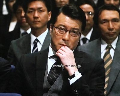 加藤 浩次(極楽とんぼ) ユンハンス マックスビル クロノスコープ 『ブラックペアン』より