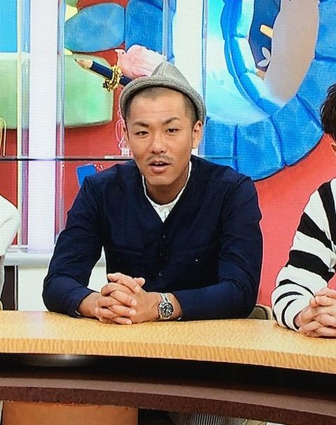藤田 憲右(トータルテンボス) オメガ スピードマスターオートマティック