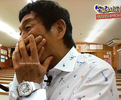 明石家 さんま ウブロ ビッグ・バン アエロ・バン MT88 田中将大モデル 日本限定88本 『1億人の大質問!? 笑ってコラえて!』より