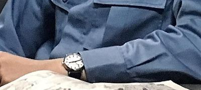 橋本 真一 モンディーン エヴォ2 (スイス国鉄オフィシャル鉄道ウォッチ) 『極道めし』より