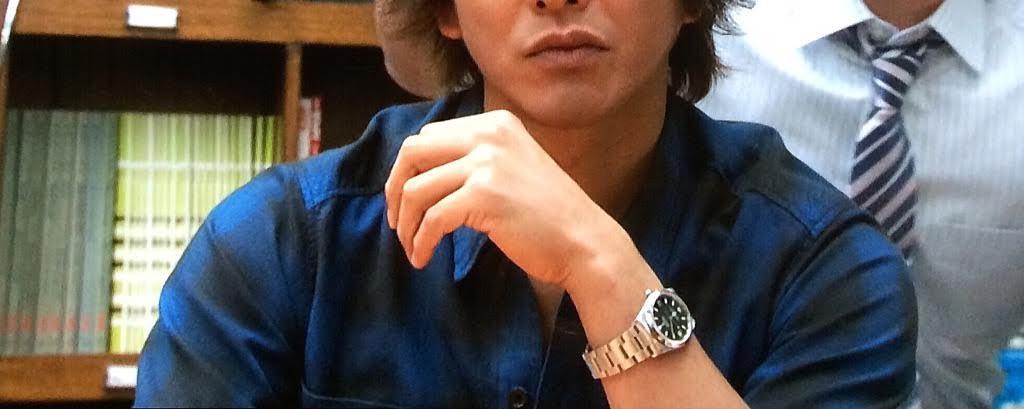 super popular 2a526 9320e 今週の『HERO』第5話 久利生公平役の木村拓哉 ロレックス ...