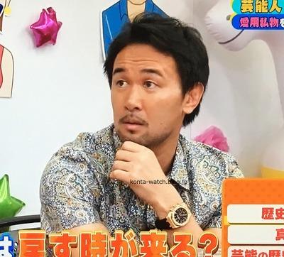 山中 慎介 オーデマ・ピゲ ロイヤルオーク クロノ 41mm 『浜ちゃんが!』より