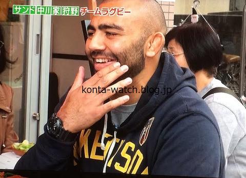 リーチ マイケル(ラグビー日本代表キャプテン) カシオ Gショック カモフラージュシリーズ