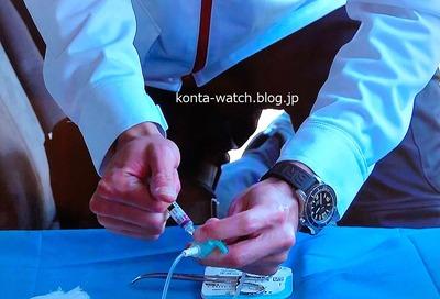 賀来 賢人 ブライトリング スーパーオーシャン オートマティック 42 『TOKYO MER~走る緊急救命室~』より