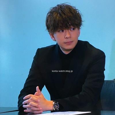 三浦 翔平 オメガ スピードマスター レーシング マスター クロノメーター 『M 愛すべき人がいて』より