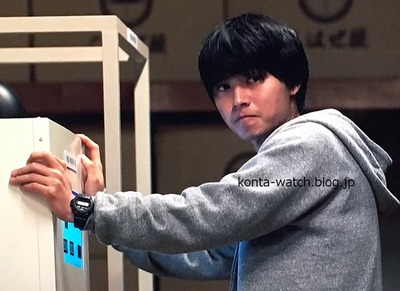 山﨑 賢人 カシオ Gショック GW-6900-1JF 陸王 より