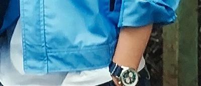 須藤 蓮 ジャックメイソン ノーチカル  42mm  ネイビー×ホワイトダイアル 『俺のスカート、どこ行った?』より