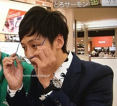 村田 秀亮(とろサーモン) ルミノックス ネイビーシール  カラーマーク  3050シリーズ 浜ちゃんが!より