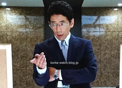 野間口 徹 ロレックス エクスプローラーI 『サバイバル・ウェディング』より