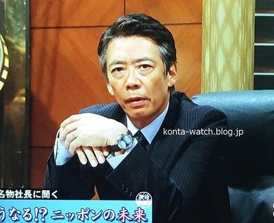 生瀬 勝久 ピエール クンツ ダブルレトログラード  セコンド ポインターデイト 『サバイバル・ウェディング』より