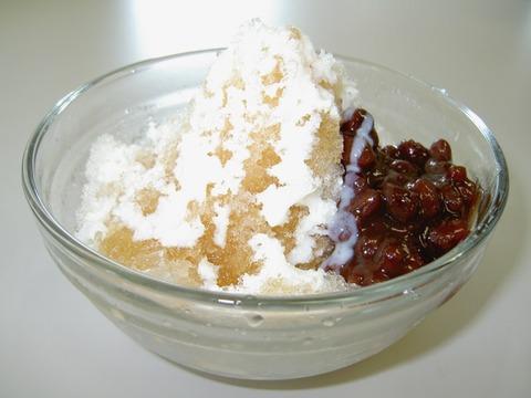 ハニー&黒酢かき氷(ミルク金時)_2