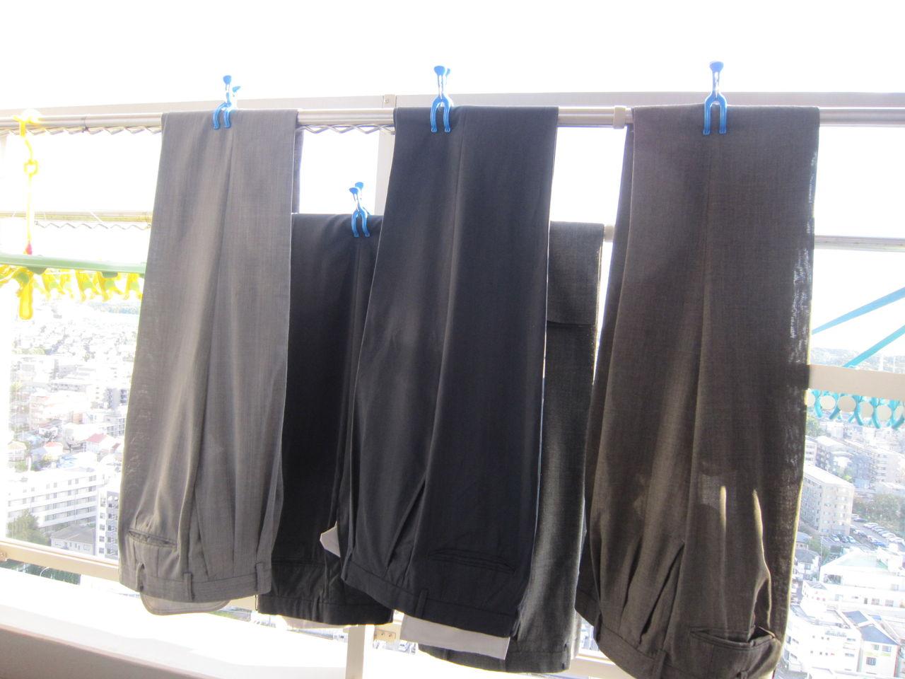 スーツを洗う  ハイベックの洗濯日記!