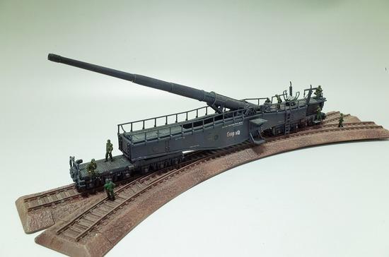 28cm列車砲 K5(E) レオポルド
