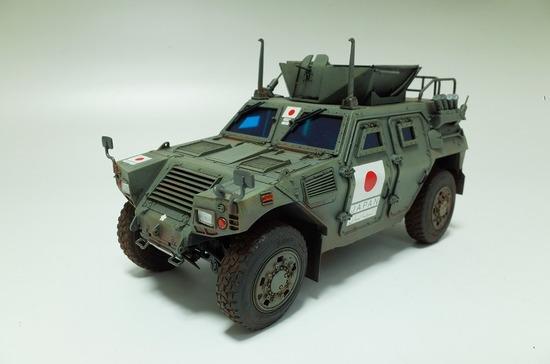 タミヤ 陸上自衛隊 軽装甲機動車 イラク派遣仕様