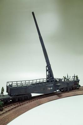 列車砲  レオポルド プラモデル