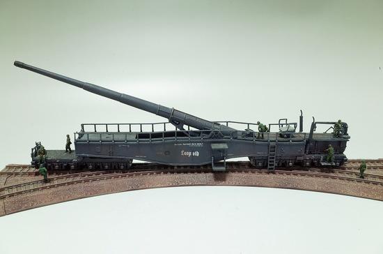 1/144 28cm列車砲 K5(E) レオポルド