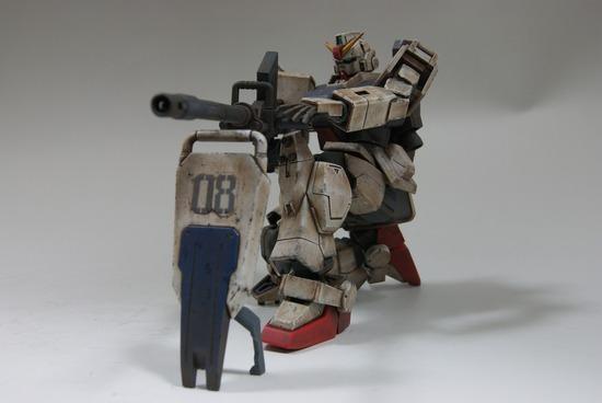 陸戦型ガンダム 輝き撃ち