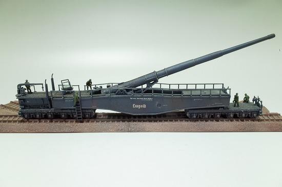 列車砲  レオポルド