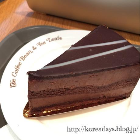 コーヒービーンの濃厚チョコレートケーキ
