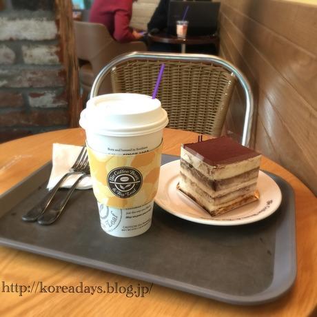 韓国で一番美味しいコーヒービーンでティラミス