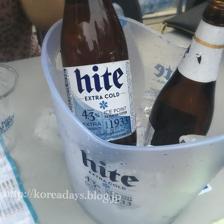 新村のビール祭り♪