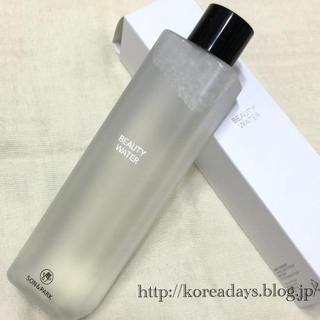 オリーブヤングセール戦利品♪ Son&Park Beauty water